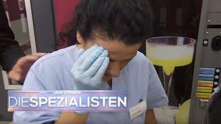 Hochzeitsgast schießt Krankenschwester Korken ins Auge | Auf Streife - Die Spezialisten | SAT.1 TV