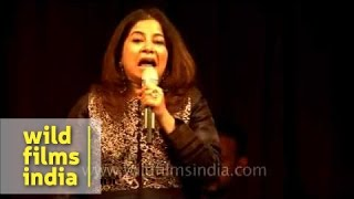 Rekha Bhardwaj performs