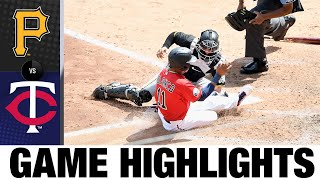 Nelson Cruz takes AL RBI lead in Twins' win | Pirates-Twins Game Highlights 8/4/20