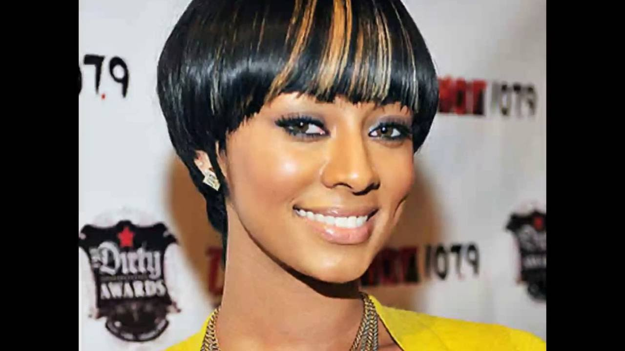 keri hilson short hairstyles । short hairstyles for ladies with thick hair