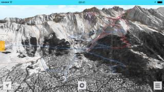 FATMAP - Verbier 3D Ski Map