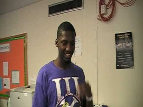 """Mean Swag Promotion at """"Tha U"""" Hurricanes with Jacory Harris #12 (QB) shout out to Cuttaman of ATP"""
