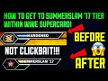 HOW TO GET BETTER CARDS, HOW TO GET TO SS 17 TIER AND CLIMB THROUGH THE TIERS FASTER! WWE SUPERCARD!