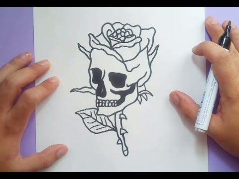 Como Dibujar Una Calavera Paso A Paso 21 How To Draw A Skull 21