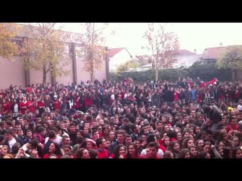 Sami Frasheri High School ( Festa e 28 nentorit) part 1