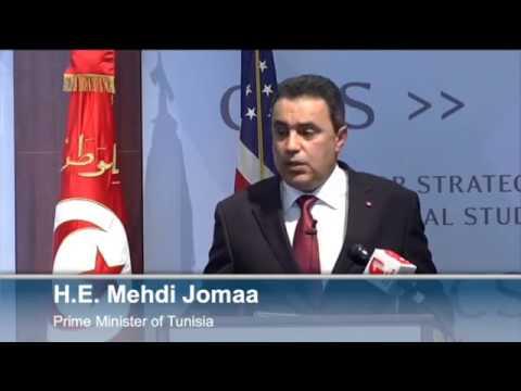 Statesmen s Forum  Tunisian Prime Minister Mehdi Jomaa