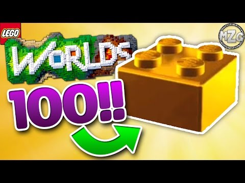 Master Builder! 100 GOLD BRICKS! - LEGO Worlds Gameplay - Episode 14
