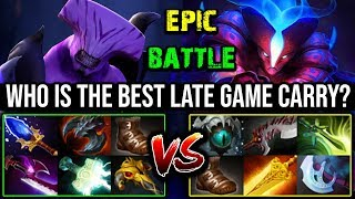 Who's the Late Game Boss? Beautiful Chrono Scepter Void Vs Max Slotted Spectre | DotA 2 Carry Battle