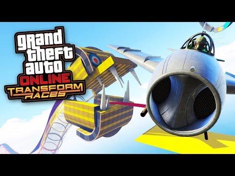 GTA Online: Transform Races Gameplay