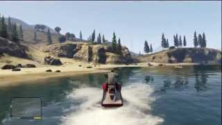 Grand Theft Auto V - Gameplay water 100% Real