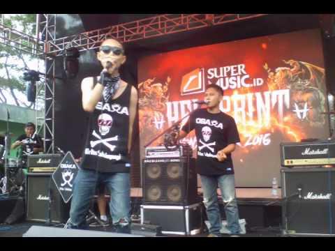 OSAKA - SI DUKI KALIMANTARA (Live Hellprint Monster Tour 2016 Disjas Baros - Cimahi)