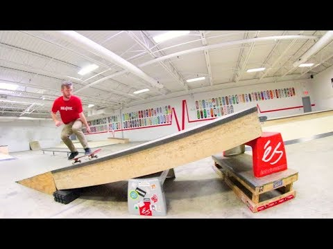 OUR BIGGEST SKATE RAMP EVER. / Warehouse Wednesday