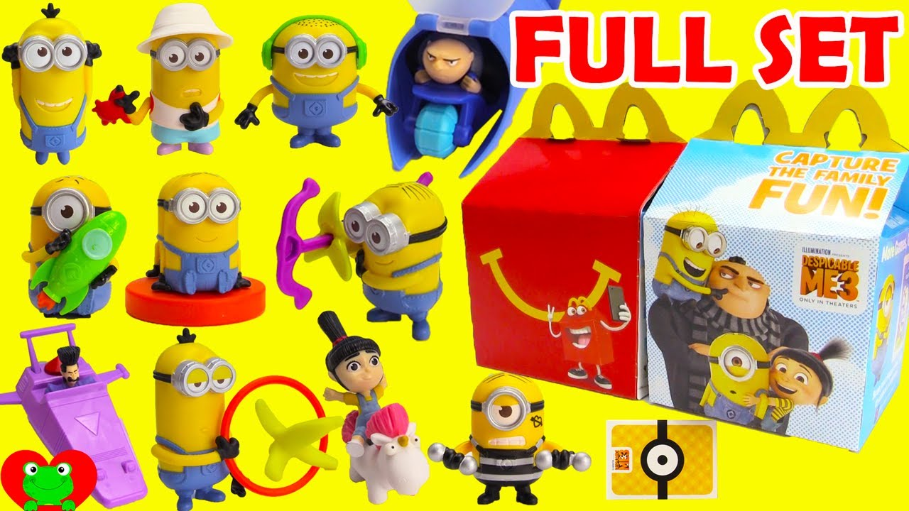 Stream 2017 Despicable Me 3 Minions McDonald's Happy Meal ...