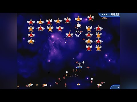 Chicken Invaders 2: The Next Wave (PC) - Gameplay |