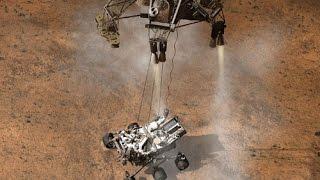 Hồi hộp chờ màn hạ cánh của tàu thám hiểm sao Hỏa P2