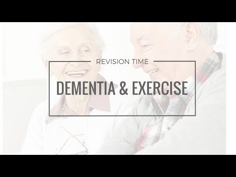 Dementia and Exercise Revision Session