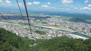 斎藤道三ゆかりの岐阜城の観光の為、金華山ロープウェーを利用しました...