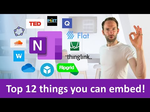 12 Cool Things You Can Embed Directly Into OneNote!
