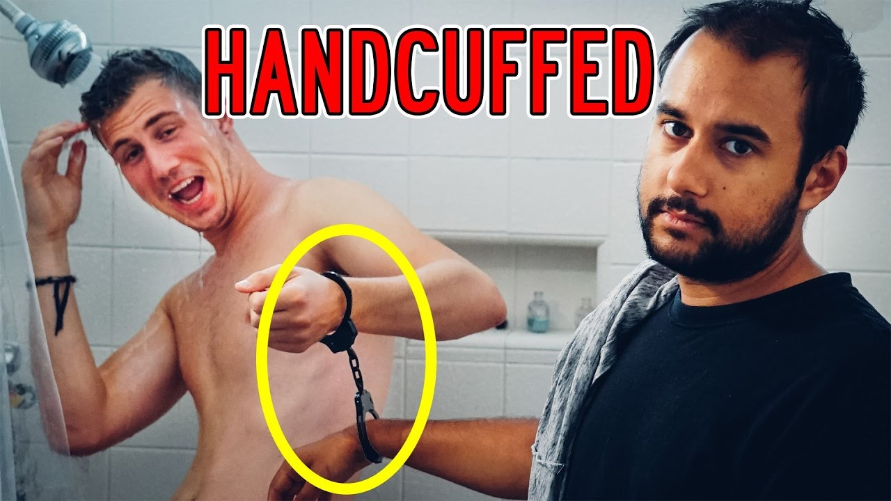 Handcuffed To Your Best Friend For 24 Hours Laxatives -7576