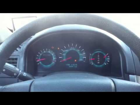 2010 Ford Fusion Instrument Cluster Problems