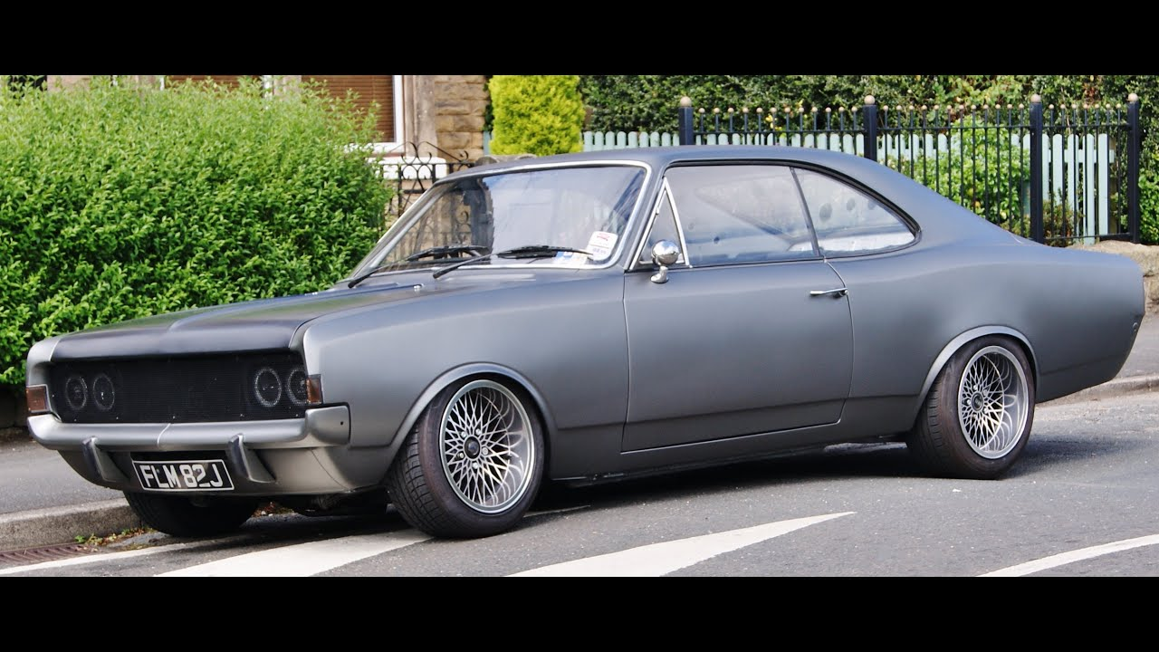 1970 opel commodore coupe youtube