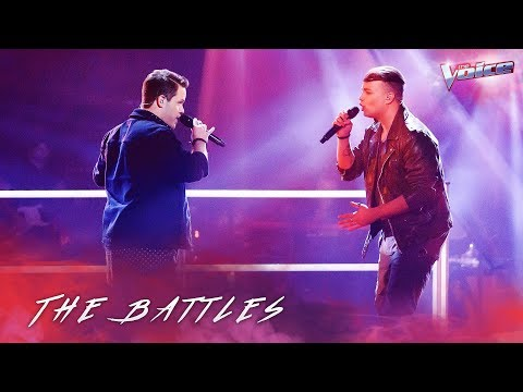 Ben Clark v Nathan Brake 'I Want To Know What Love Is' | The Voice Australia 2018