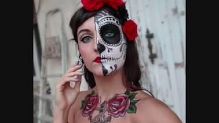 Mexican Skull Make up & Tattoo V A Thumbnail