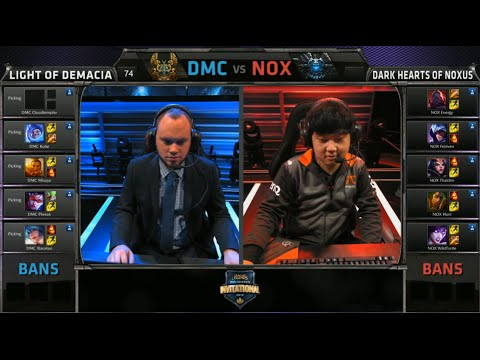 Light of Demacia vs Hearts of Noxus | Casters vs Pro Players Show Match at MSI 2015 | CAST vs PROS