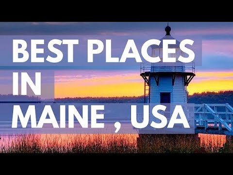 10 Best Travel Destinations in Maine USA