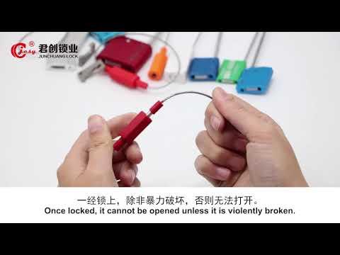 Cable Seal Lock JCCS305 Cable Seal ,sara Whatsapp:+8615553189851