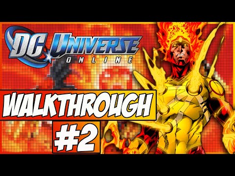 DC Universe Online Walkthrough - Episode 2 - Brainiac's Ship!