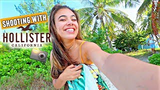 What it's like being a Model for Hollister!🎥👙💦 Bahamas photoshoot!