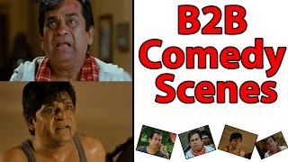 Racha movie back to back comedy scenes - ram charan, tamannah, brammi