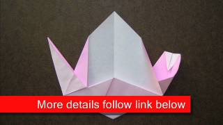 How To Fold Origami Peach - Origamiinstruction.com