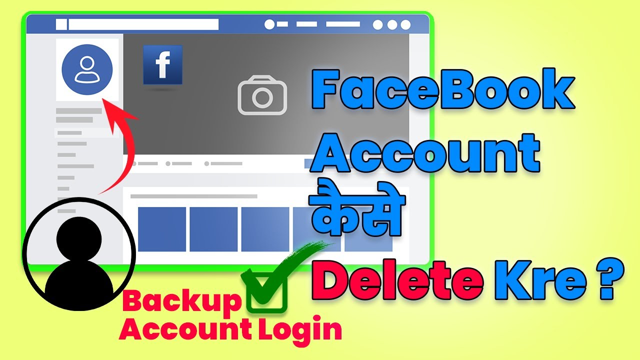 2020 Facebook Account Completely Kaise Delete Kre | Delete FaceBook Account Permanently 2020