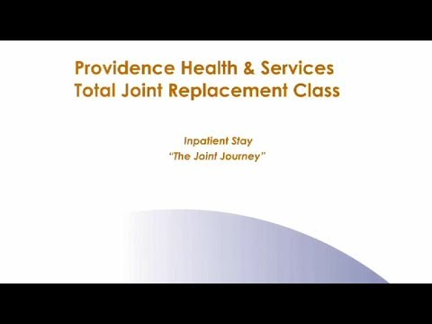 Total Joint Replacement Pre-Op Video
