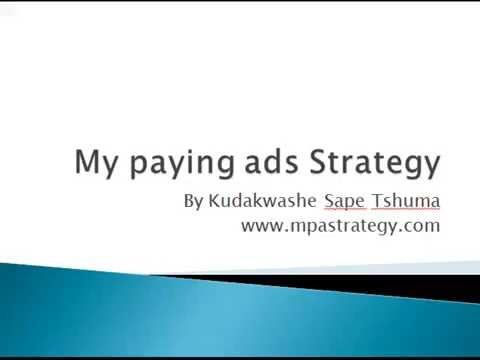My paying ads strategy