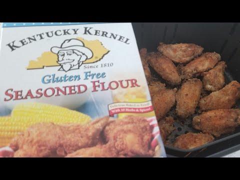 air-fryer-gluten-free-chicken-wings-kentucky-kernel-flour-zenchef-5.8qt-airfryer-evo-oil-sprayer