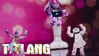 Baixar Robotgänget LiU dansar sig genom decennierna i Talang 2017 - Talang (TV4)