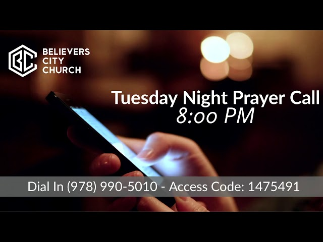 Believers City Church Live Stream