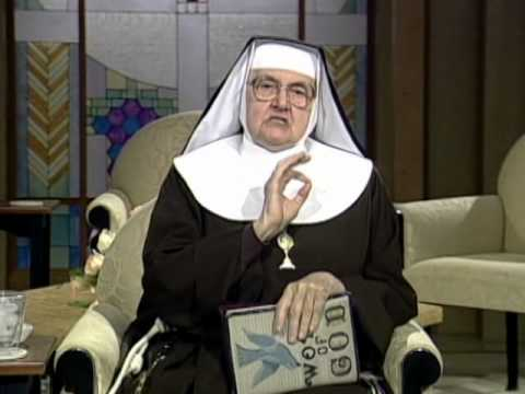 Mother Angelica Live - 1996.4.9 -  Easter Week Scripture