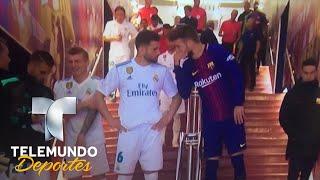Lo que le dijo Piqué a Nacho en el túnel que lo calentó al máximo | La Liga | Telemundo Deportes