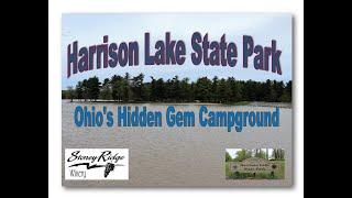 """Harrison Lake State Park Campground """"Ohio's Hidden GEM"""""""