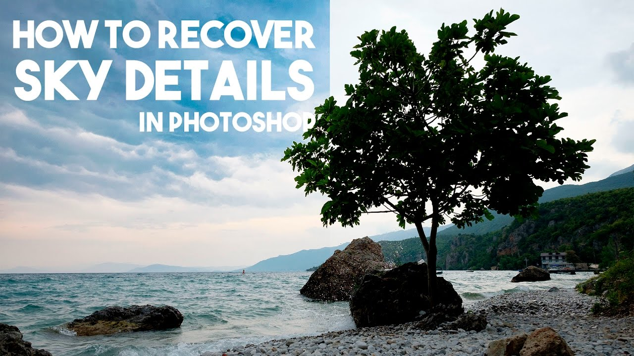 How to Recover Sky Details with Luminosity Masks | Fast and Easy