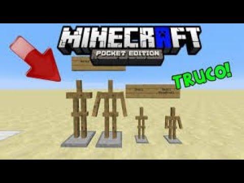 Trucos Con El Estante De Armadura Y Estandarte Para Minecraft Pe 1.2
