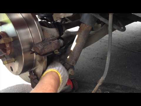 How to replace Brake Rotor and Brake Pads from SUV Buik Rendezvous