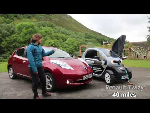 1/3: Mid-Wales Electric Car Adventure - Day One