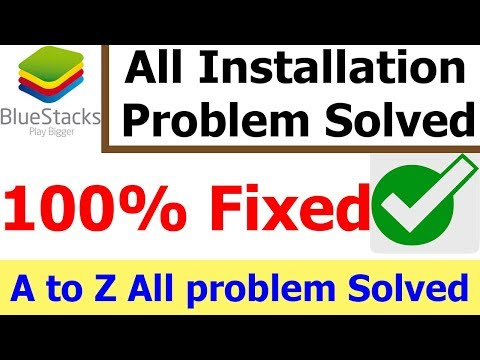 How to fix bluestacks installation problem | Bluestacks installation failed | Installation Error