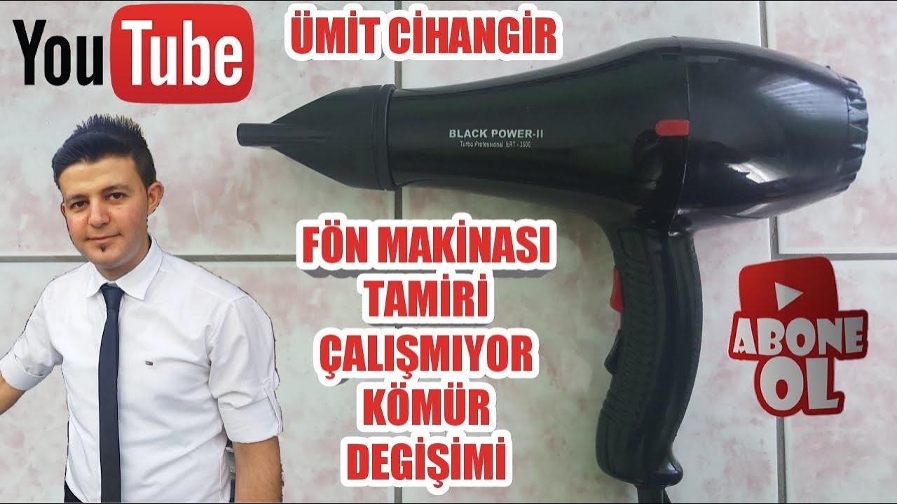 Fon Makinasi Tamiri Motor Komuru Degisimi Youtube