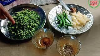 नेनुआ/तोरई के फूल की सब्जी गाँव में कैसे बनता है एक बार जरुर देखे